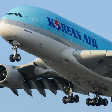 Airbus A380 Korean Air - Praha Ruzyně
