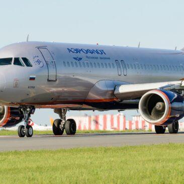 Airbus A320 Aeroflot - Praha Ruzyně