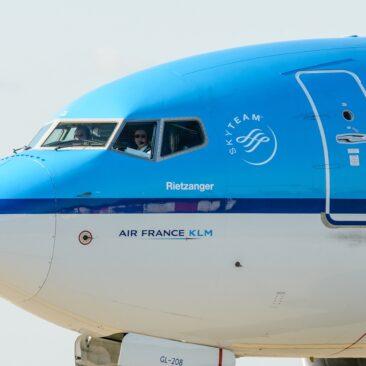 Boeing 737 KLM - Praha Ruzyně