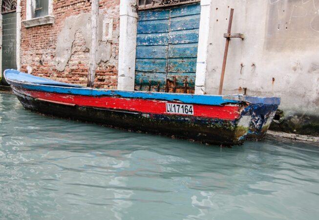 Lodka v Benátkách